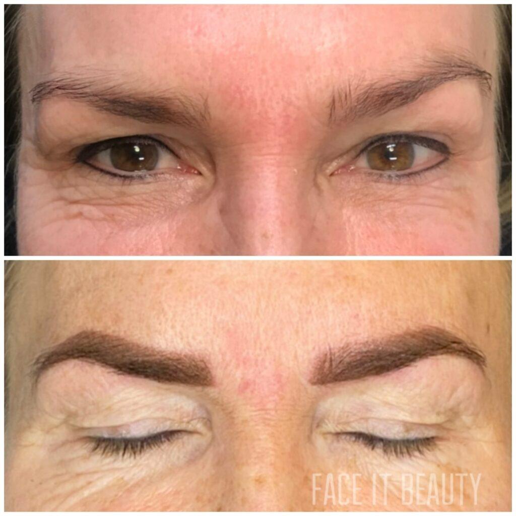 permanent makeup på bryn