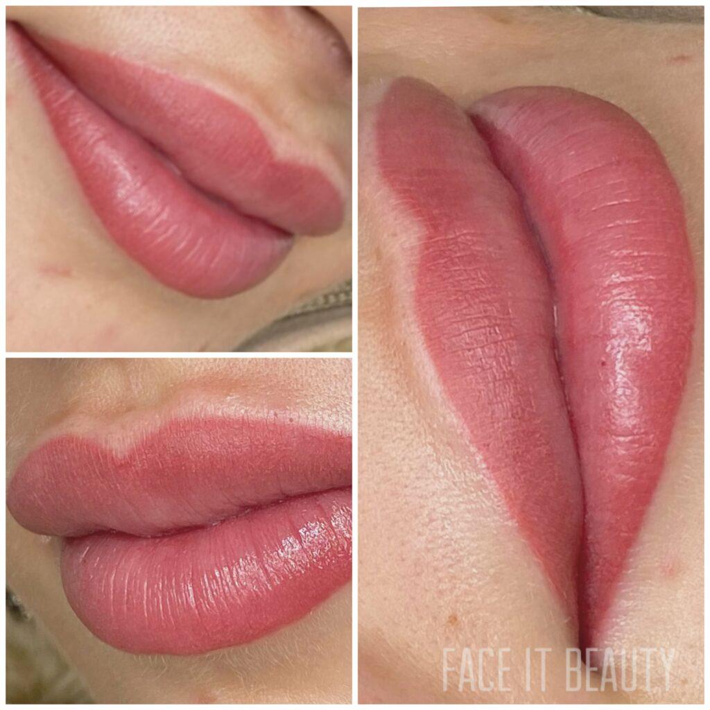 permanent makeup på læber