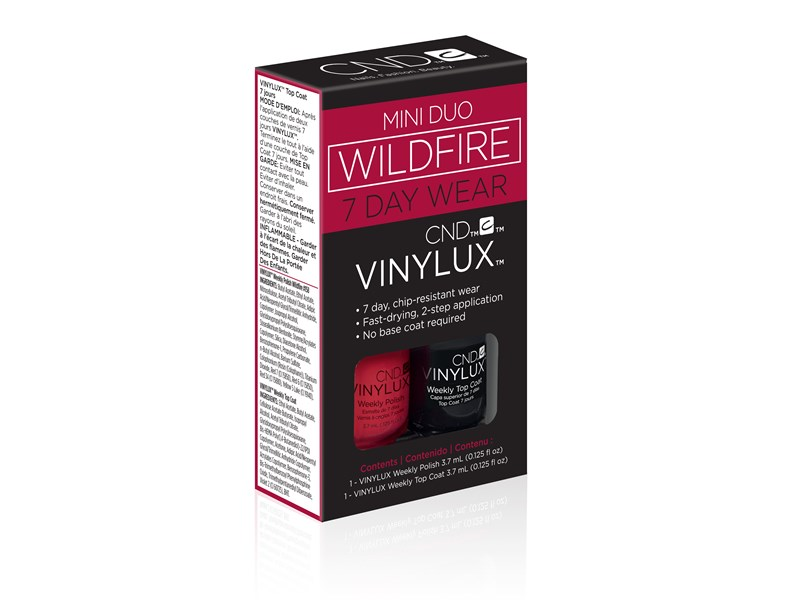 Vinylux Mini Duo Kit, Wildfire
